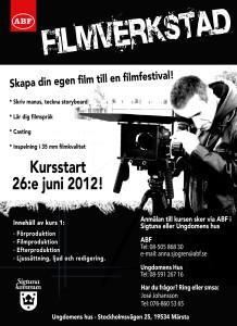 Affisch Filmverkstad